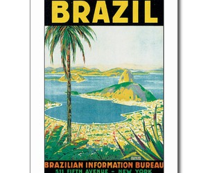 brazil, postcard, and travel image
