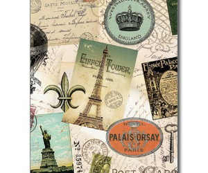 Collage, postcard, and travel image