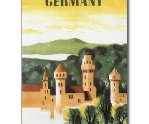 bavaria, postcard, and castle image