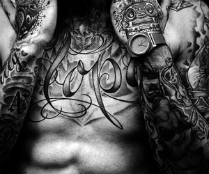 boys, ink, and boys with tattoos image