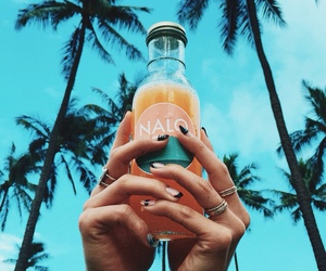 summer, drink, and tropical image