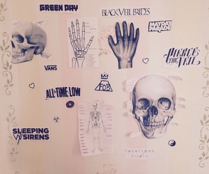 bands, bedroom, and emo image