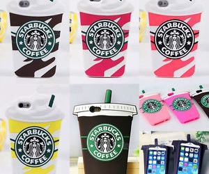 starbucks, phone cases, and starbucks phone cases image