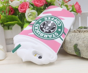 starbucks, iphone, and phone cases image