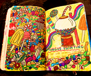 candy and wreck this journal image