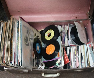 pale, pastel, and records image