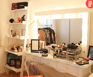 closet, decoracao, and make up image