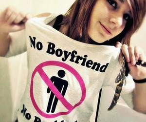 girl, boyfriend, and problem image