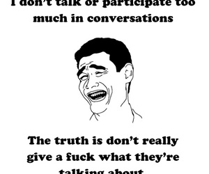 conversation, shy, and truth image