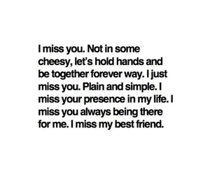 best friends, quote, and life image