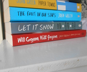 john green, paper towns, and let it snow image