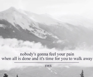 pain, sws, and Lyrics image