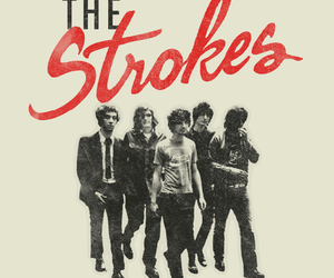 the strokes, music, and rock image