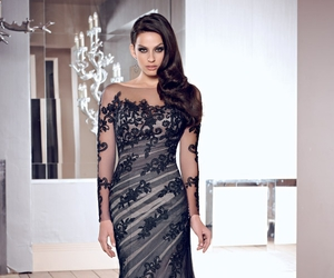 evening dresses, evening gowns, and long evening dresses image