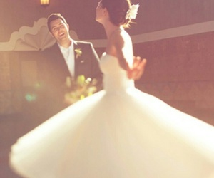 bride, groom, and marriage image