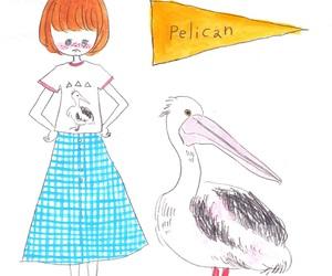 fashion, girl, and illustrations image