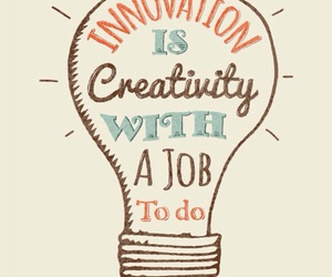 creativity, lightbulb, and quote image