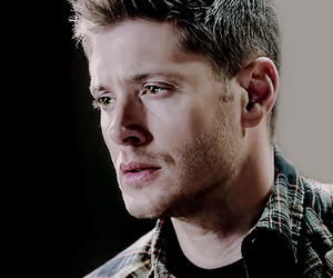 dean winchester, green eyes, and guy image
