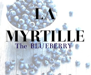 blueberry and french image
