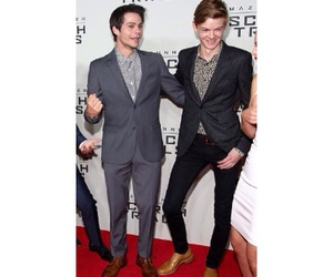 thomas brodie sangster, dylan o brien, and the scorch trials image