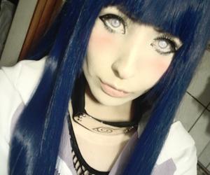 anime cosplayer, halloween cosplay idea, and hinata hyuga cosplayer image
