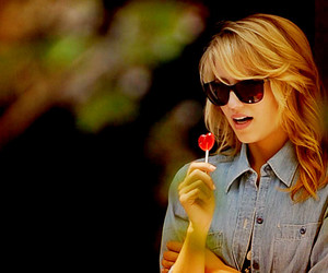 glee, dianna agron, and Quinn image