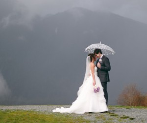 bride, flowers, and happily ever after image