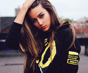 model and the weeknd image