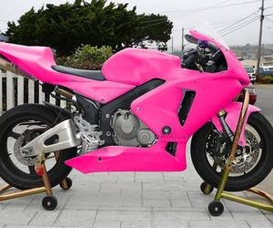 moto, pink, and love image