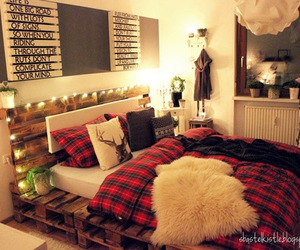 room, bed, and Dream image