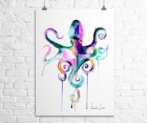 art and octopus image