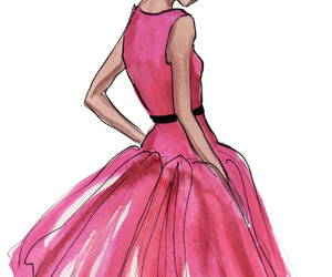 drawing, inslee, and dress image