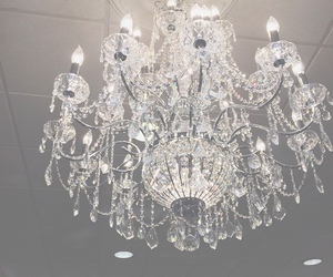 chandelier, crystal, and luxury image