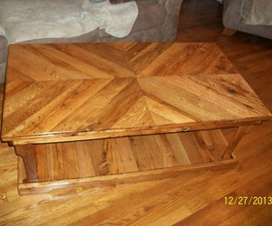 coffee table, pallets coffee table, and pallets recycled image