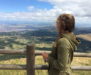 beautiful, view, and puy de dome image