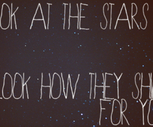 stars, coldplay, and text image