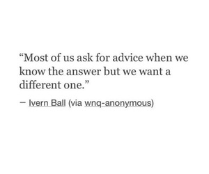 quotes, advice, and answer image