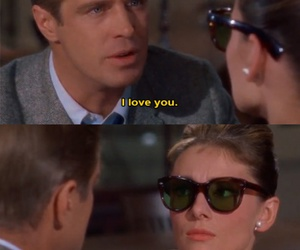 funny, I Love You, and audrey hepburn image