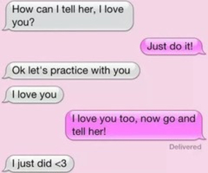 love, boy, and text image