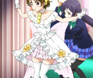 anime, eli, and hanayo image