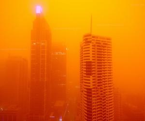 orange, aesthetic, and city image