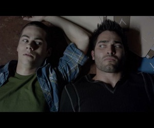 teen wolf, derek hale, and stiles image