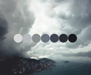aqua, cloud, and grey image