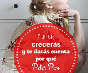 grown up, life, and peter pan image