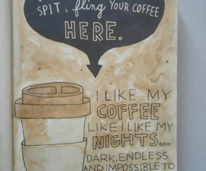 coffee, wreck this journal, and food image