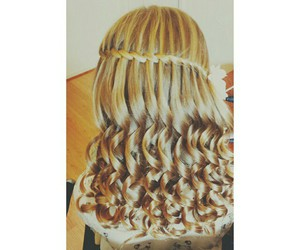 beautiful, curly hair, and hairstyles image