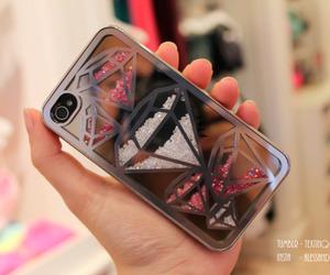diamond and iphone image