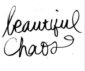 chaos, beautiful, and quotes image