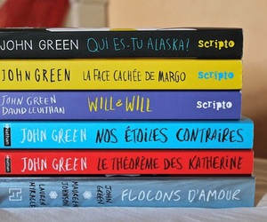 book, john green, and livre image