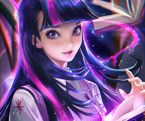 anime, art, and my little pony image